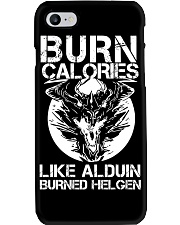 BURN CALORIES Phone Case thumbnail