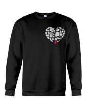 I LOVE TEXAS FROM BOTTOM OF MY HEART Crewneck Sweatshirt thumbnail