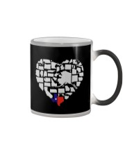I LOVE TEXAS FROM BOTTOM OF MY HEART Color Changing Mug thumbnail