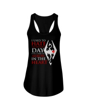 USED TO HATE VALENTINE DAY Ladies Flowy Tank thumbnail