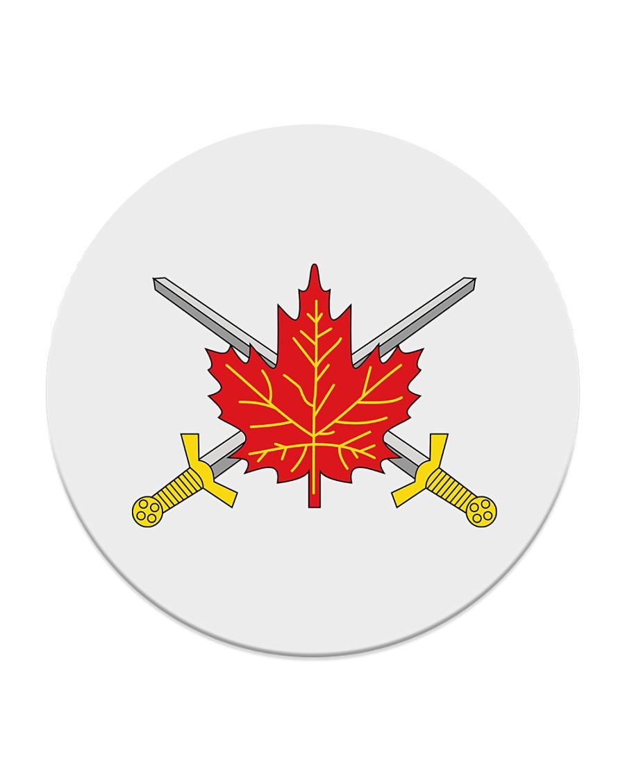 Canada Army  Circle Coaster