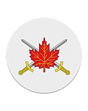Canada Army  Circle Coaster front