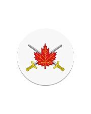 Canada Army  Circle Magnet thumbnail