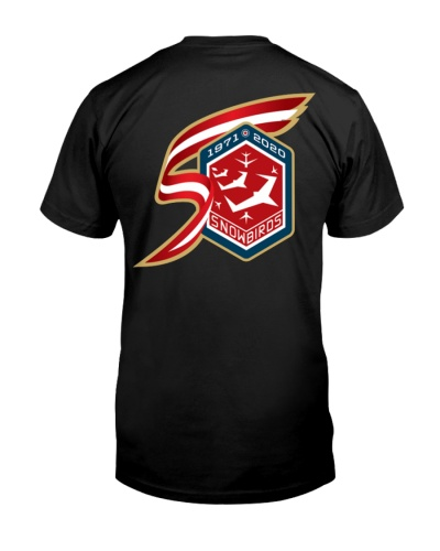 CF Snowbirds 50th aniversy t-shirt