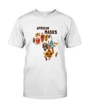African mask Premium Fit Mens Tee thumbnail