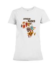 African mask Premium Fit Ladies Tee thumbnail