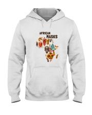 African mask Hooded Sweatshirt thumbnail