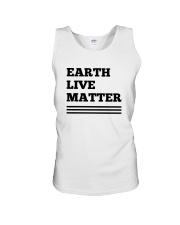 Earth lives matter 2 Unisex Tank thumbnail