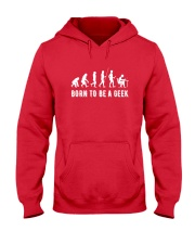 Born to be a geek Hooded Sweatshirt thumbnail