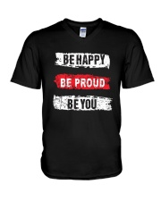 Be proud of yourself V-Neck T-Shirt thumbnail
