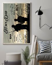 Hunting to my dad poster 11x17 Poster lifestyle-poster-1
