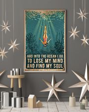 Swimming and into the ocean i go to lose my mind a 11x17 Poster lifestyle-holiday-poster-1