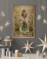 Into the garden I go to lose my mind and find my s 11x17 Poster lifestyle-holiday-poster-1