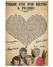 The golden girls thank you for being a friend post 11x17 Poster front