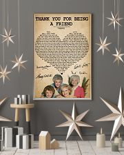 The golden girls thank you for being a friend post 11x17 Poster lifestyle-holiday-poster-1