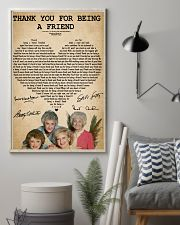 The golden girls thank you for being a friend post 11x17 Poster lifestyle-poster-1