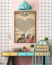The golden girls thank you for being a friend post 11x17 Poster lifestyle-poster-6