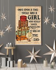 Once upon a time there was a girl who really loved 11x17 Poster lifestyle-holiday-poster-1