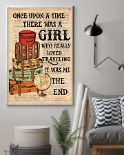 Once upon a time there was a girl who really loved 11x17 Poster lifestyle-poster-1