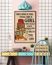 Once upon a time there was a girl who really loved 11x17 Poster lifestyle-poster-6