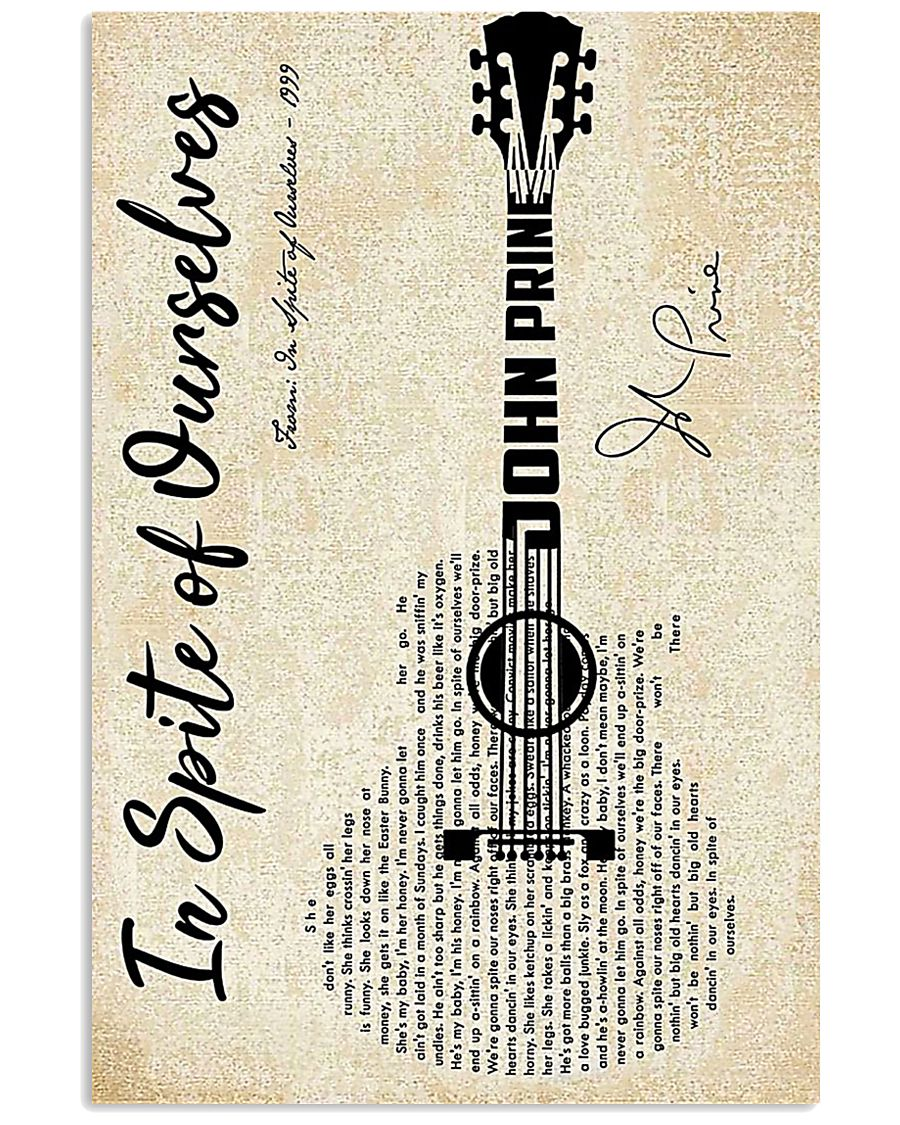 Guitar in spite of ourselves poster 11x17 Poster