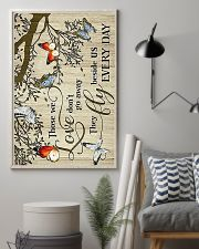 Those we love don't go away they fly beside us eve 11x17 Poster lifestyle-poster-1
