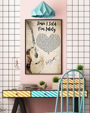 Guitar have I told you lately lyrics poster 11x17 Poster lifestyle-poster-6
