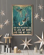 Mermaid and into the ocean I go to lose my mind an 11x17 Poster lifestyle-holiday-poster-1