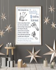 Walk alongside me daddy hold my little hand poster 11x17 Poster lifestyle-holiday-poster-1