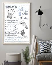 Walk alongside me daddy hold my little hand poster 11x17 Poster lifestyle-poster-1