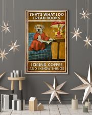 Dog that's what I do I read books I drink coffee a 11x17 Poster lifestyle-holiday-poster-1