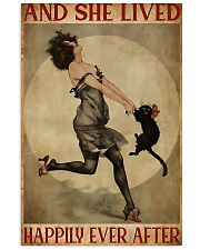 Black cat and me and she lived happily ever after  11x17 Poster front