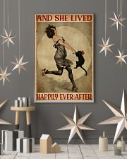 Black cat and me and she lived happily ever after  11x17 Poster lifestyle-holiday-poster-1