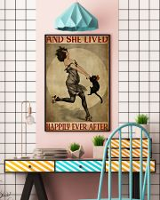 Black cat and me and she lived happily ever after  11x17 Poster lifestyle-poster-6