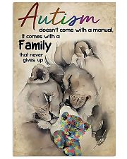 Lion Autism doesn't come with a manual it comes wi 11x17 Poster front