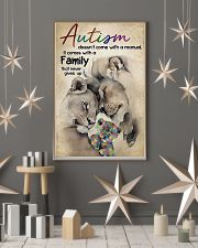 Lion Autism doesn't come with a manual it comes wi 11x17 Poster lifestyle-holiday-poster-1