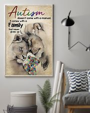 Lion Autism doesn't come with a manual it comes wi 11x17 Poster lifestyle-poster-1