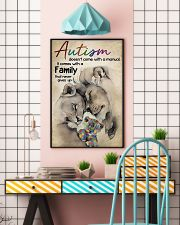 Lion Autism doesn't come with a manual it comes wi 11x17 Poster lifestyle-poster-6