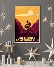 Moutain bike journey everything will kill you so c 11x17 Poster lifestyle-holiday-poster-1