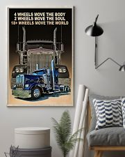 4 wheels move the body poster 11x17 Poster lifestyle-poster-1