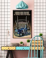 4 wheels move the body poster 11x17 Poster lifestyle-poster-6