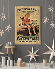 There was a boy who really liked fishing and loved 11x17 Poster lifestyle-holiday-poster-1