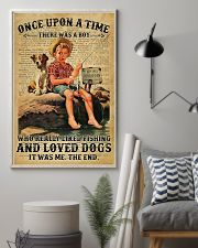 There was a boy who really liked fishing and loved 11x17 Poster lifestyle-poster-1