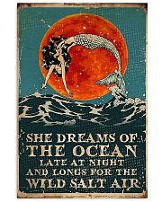 Mermaid she dreams of the ocean late at night salt 11x17 Poster front