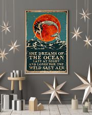 Mermaid she dreams of the ocean late at night salt 11x17 Poster lifestyle-holiday-poster-1