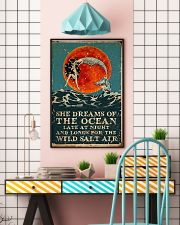 Mermaid she dreams of the ocean late at night salt 11x17 Poster lifestyle-poster-6