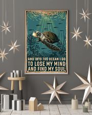 Turtle and into the ocean I go to lose my mind and 11x17 Poster lifestyle-holiday-poster-1