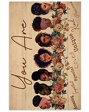 Black girls you are amazing important special love 11x17 Poster front
