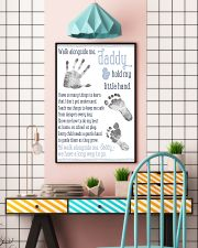 Walk alongside me daddy hold my little hand poster 11x17 Poster lifestyle-poster-6