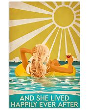Swimming blonde and she lived happily ever after p 11x17 Poster front